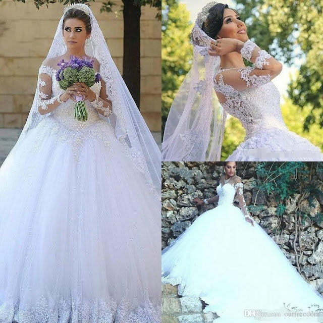 Ball Gown Wedding Dress 2017