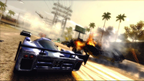Burnout Revenge (Jtag/RGH + DLC) XBOX 360 Screenshots #4