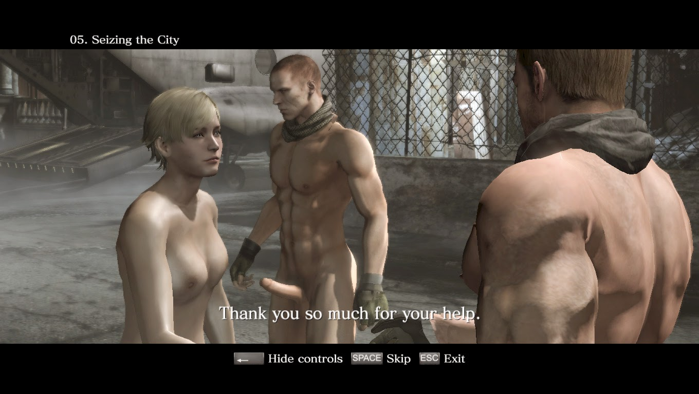 Resident Evil 6 has nudity but not the kind you want to