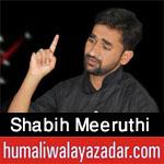 http://www.humaliwalayazadar.com/2017/10/shabih-meeruthi-nohay-2018.html