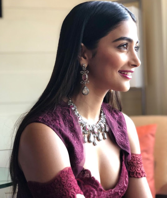pooja hegde Hot Stills at the IFFI2017 closing ceremony