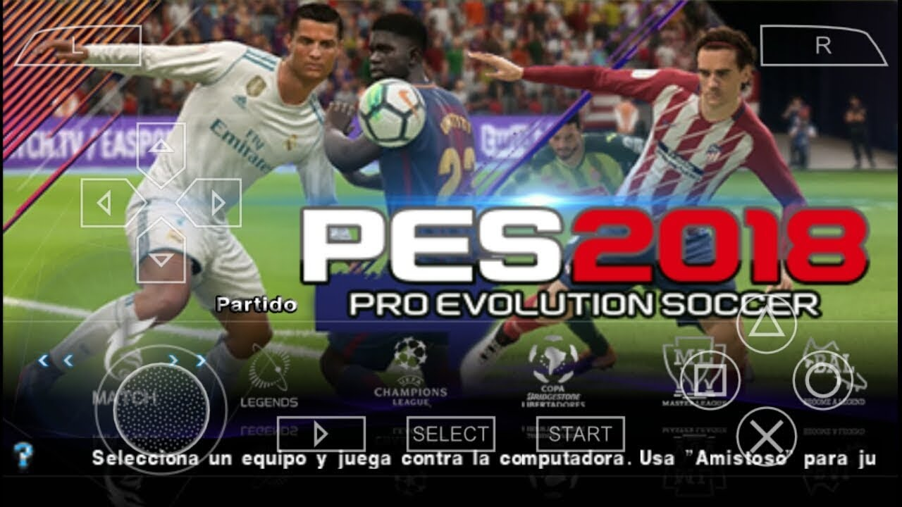 Download game ppsspp pes 2019 iso | PES 2019 PPSSPP Review  2019-03-12