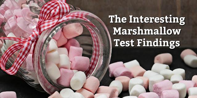 The Marshmallow Test Studies Self-Control