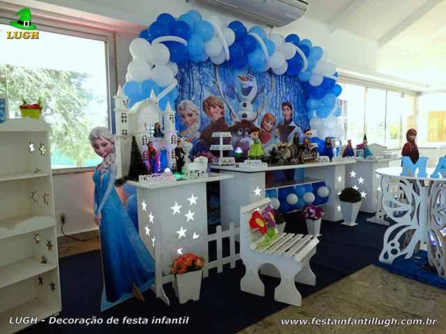 Decoração festa de aniversário Frozen - Tema infantil