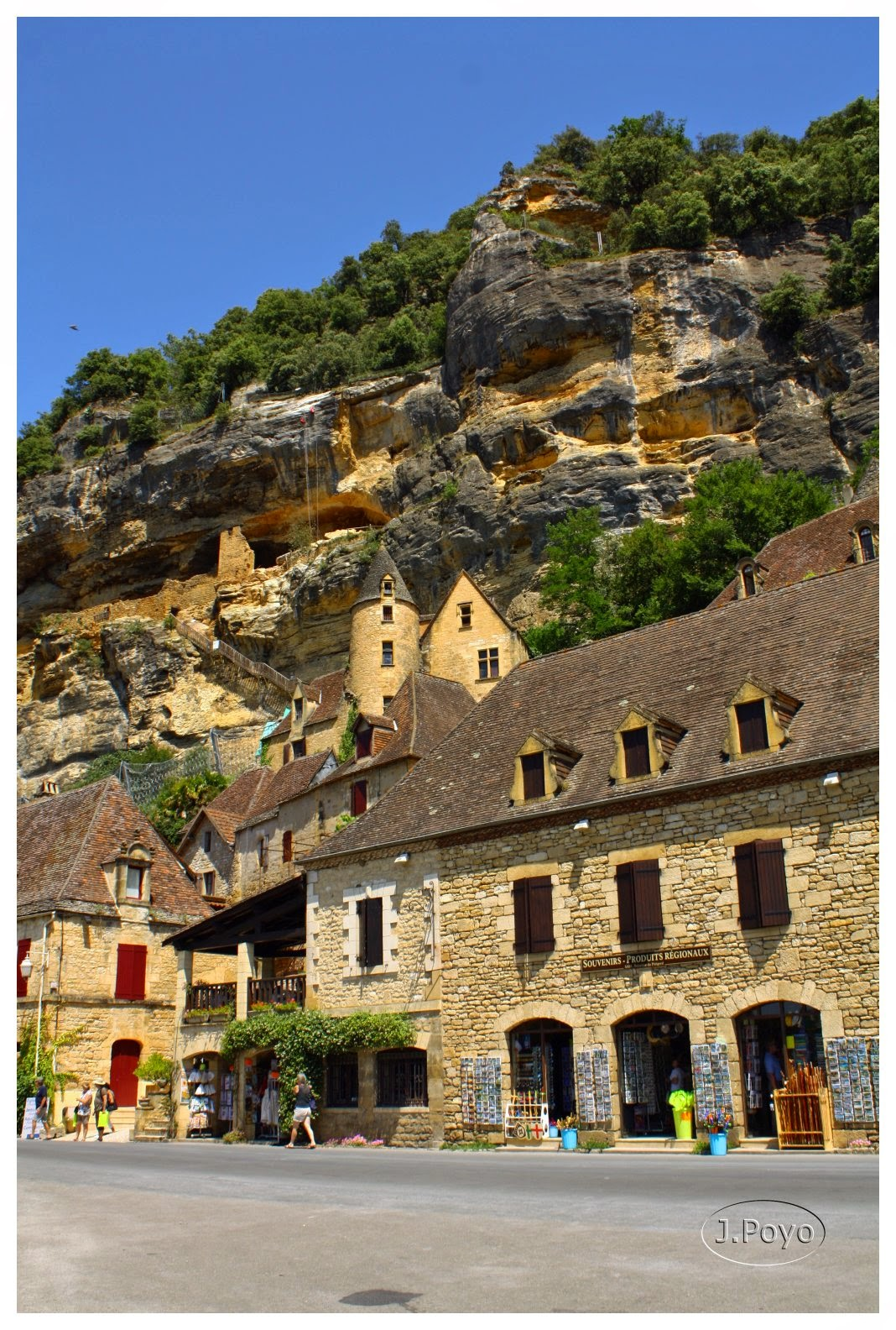 La Roque Gagueac, Perigord negro, Francia