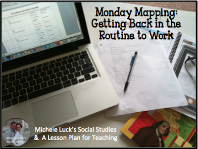 Ideas for helping teachers get back in the routine to work after summer break from school