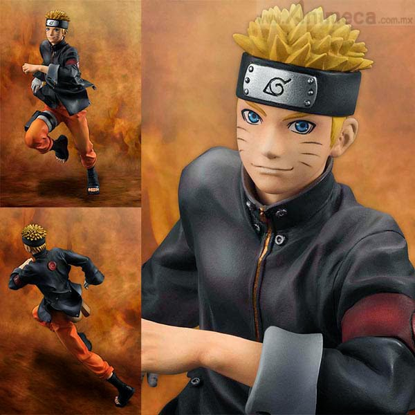 NARUTO UZUMAKI G.E.M. FIGURE THE LAST NARUTO THE MOVIE MEGAHOUSE