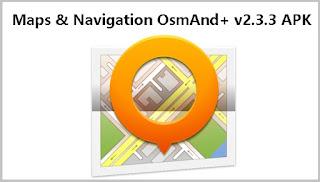 Maps Navigation OsmAnd v2.3.3 APK