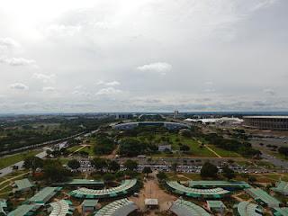 Vista da Torre de TV de Brasília