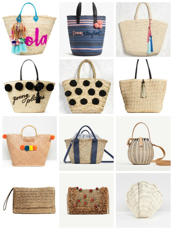 89663e9aae From small rounded cross-bodies to wicker ginormous beach totes and  baskets