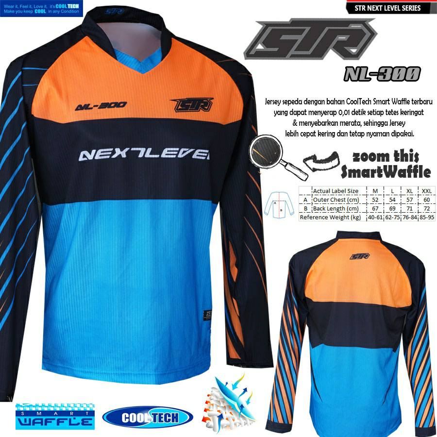 Toko Sepeda Online Majuroyal Jersey Baju Specialized Jangan Gunakan Pemutih Str Wear It Feel Its Cooltech Make You Keep Cool In Any Condition