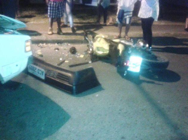 Casal fica gravemente ferido em Colombo após acidente