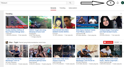 Langkah upload video youtub original