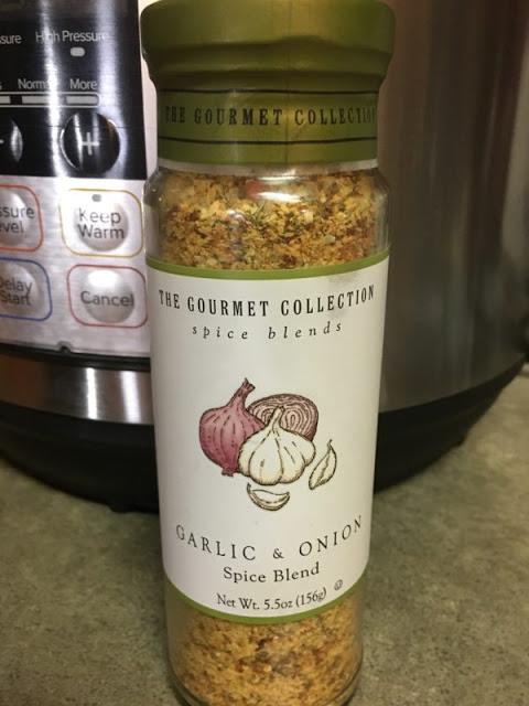 Instant Pot Recipe: Garlic and Onion Chicken