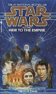 Heir to the Empire book cover