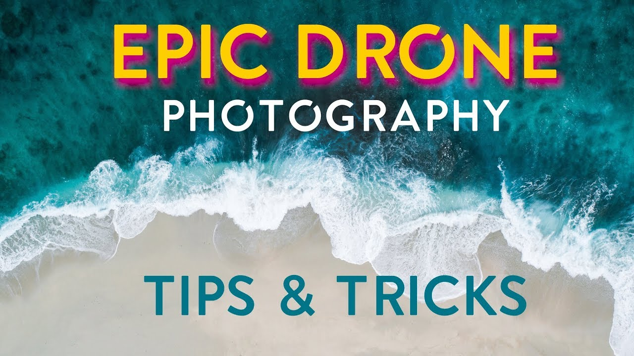 5 Drone PHOTOGRAPHY TIPS and TECHNIQUES!