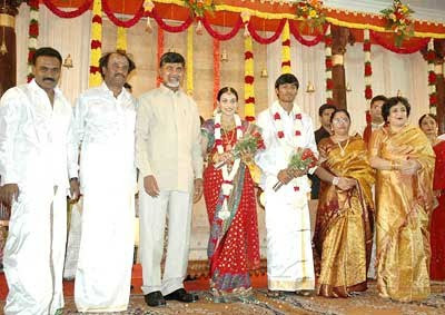 Rajni's-Daughter-Wedding-Photo-3