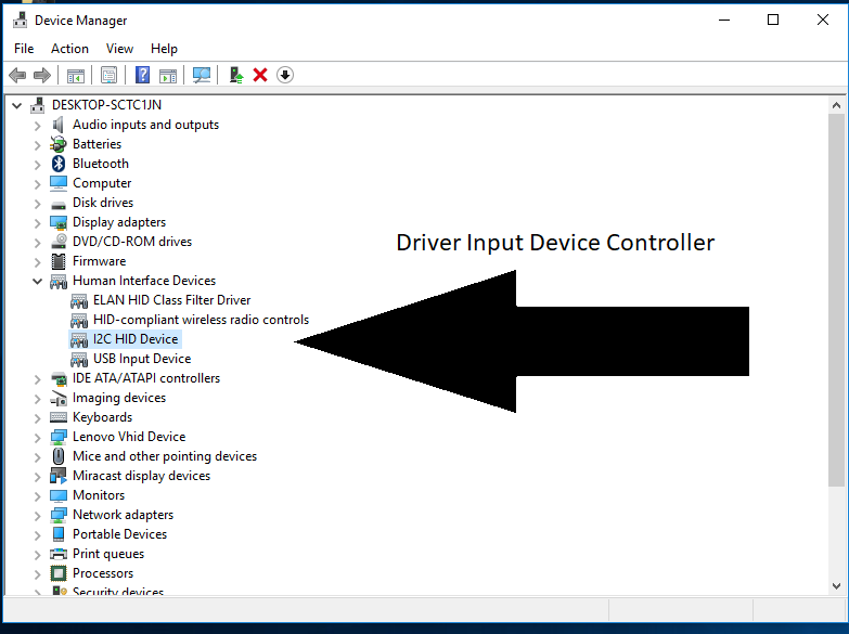 I2c Hid Device Driver Hp