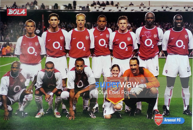Poster Tim Arsenal