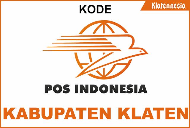 Daftar Kode Pos Seluruh Kecamatan di Klaten