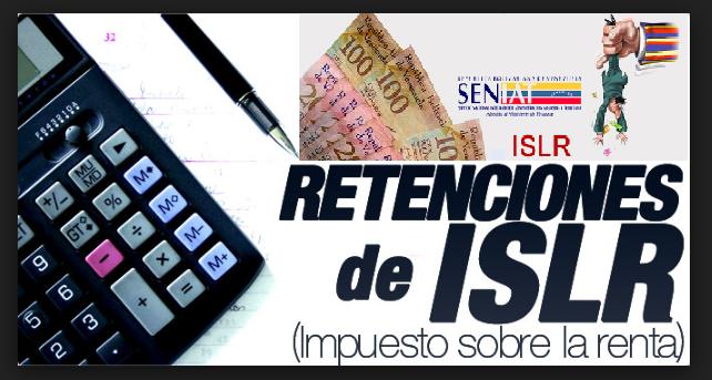 RETENCIONES DE ISLR DE SUELDOS Y SALARIOS