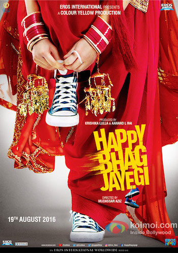 Happy Bhaag Jayegi 2016 Hindi 720p HDRip 900MB