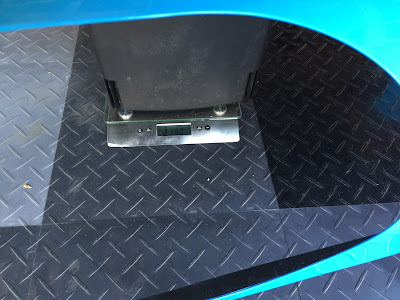 Carbon Fibre Bonnet (painted with cut-out) weighs 2.130kg