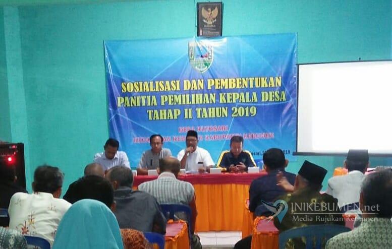 Panitia Terbentuk, Desa Kutosari Siap Gelar Pilkades Serentak