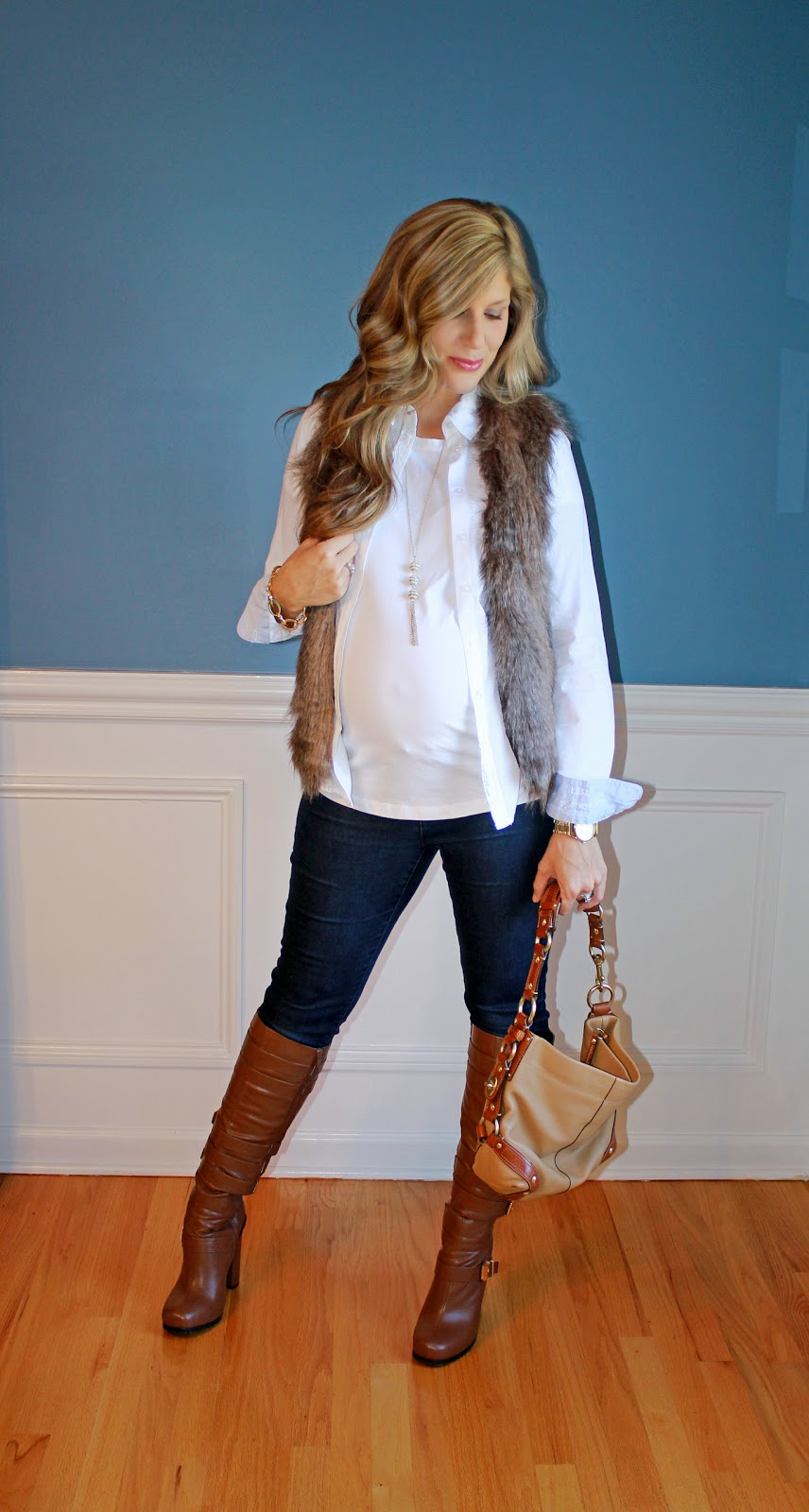 b82db8ca94134 Outfitted411: Faux Fur for Fall...