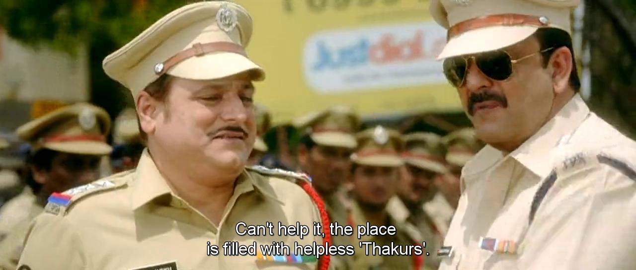Screen Shot Of Hindi Movie Policegiri (2013) Download And Watch Online Free at worldfree4u.com