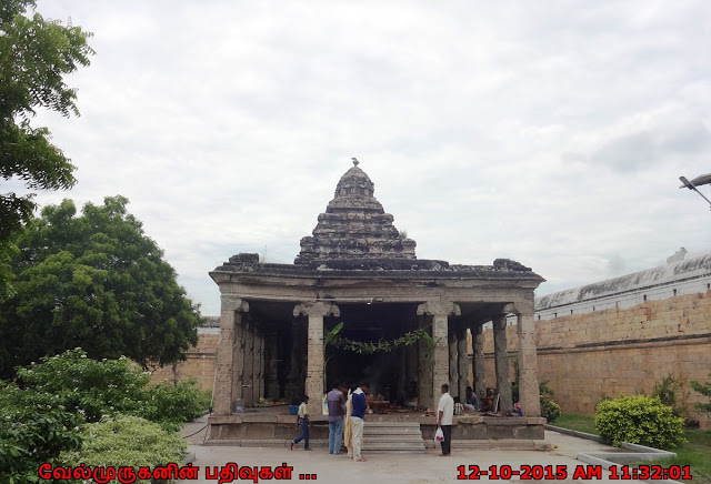 Siva Temple Worshipped by Brahma