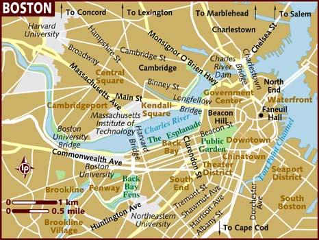 Traveler Guide Boston USA