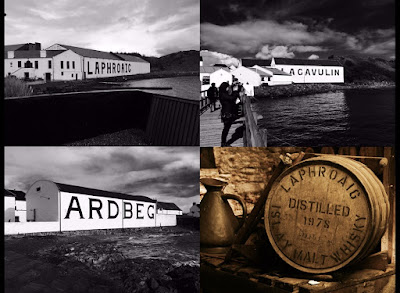 Islay Trip - Part 4 - Ardbeg distillery, Lagavulin distillery and Laphroaig distillery