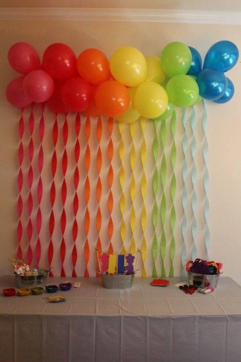 M s y m s manualidades como decorar usando tiras de papel - Como hacer cortinas de tiras ...
