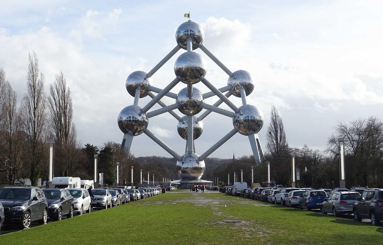 week-end à Bruxelles Atomium extérieur