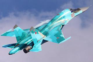 Jet Tempur Su-34 (Platipus)