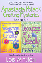 Anastasia Pollack Crafting Mysteries, Books 3-4