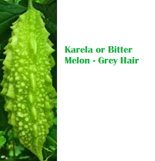 Health Benefits Of Karela or Bitter Melon - Grey Hair