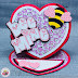 Bee Mine- Valentine Card with My Scrap Chick