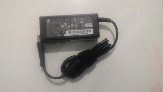 Jual adaptor laptop hp 18.5v 3.5a