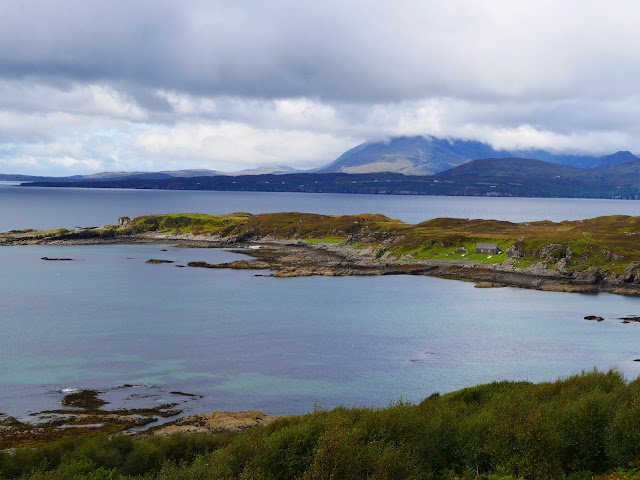 Black Cuillins View from Sleat Peninsula