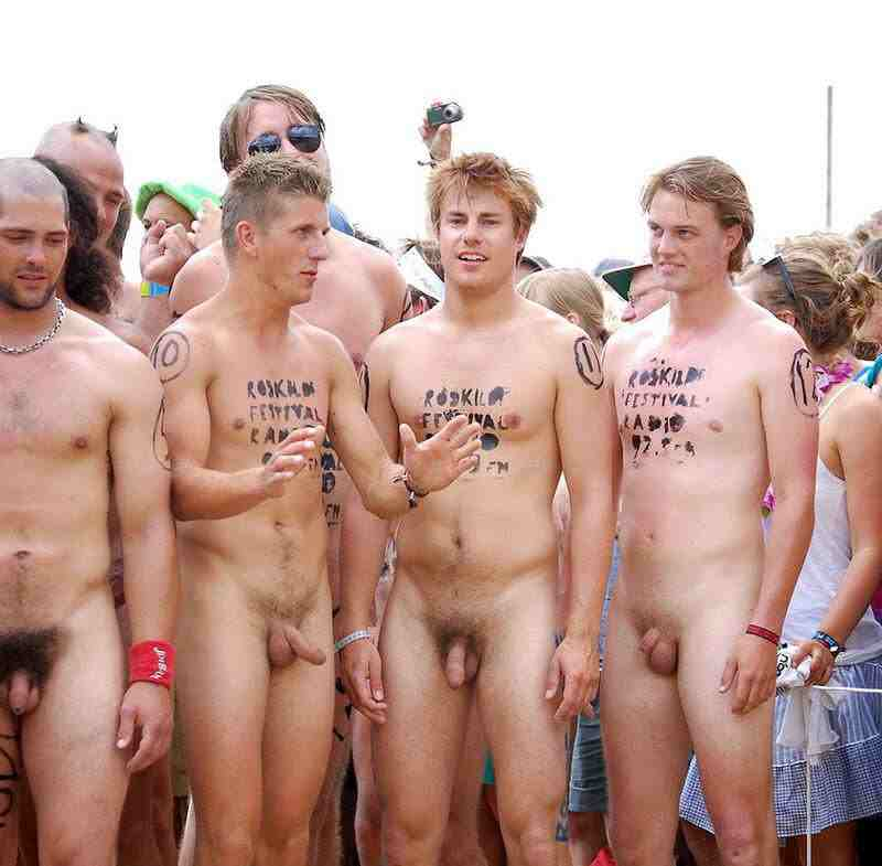 Nude men and boys