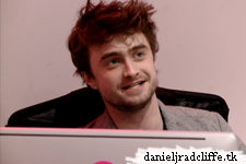 Daniel Radcliffe was Nylon magazine's receptionist for an hour