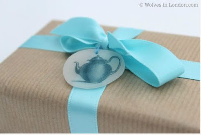 Shrink Plastic Gift Tag