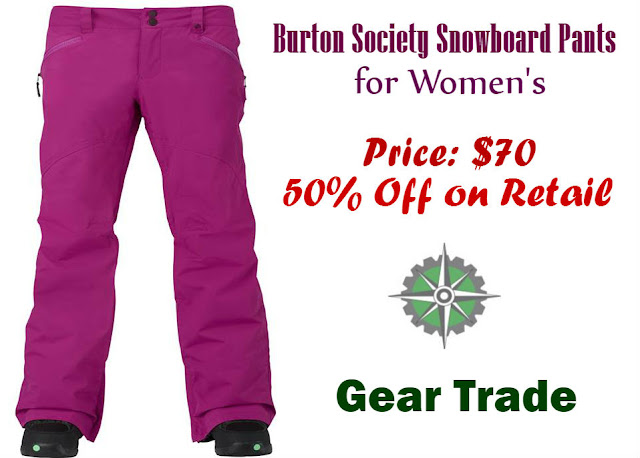 Review of One of the Best Burton Snowboard Pants for Women