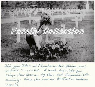 Carole Landis Visiting Cemetery