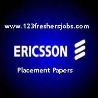 Ericsson Placement Papers 2015-2016 Fully Solved
