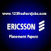 Ericsson Placement Papers 2016-2017 With Solutions.