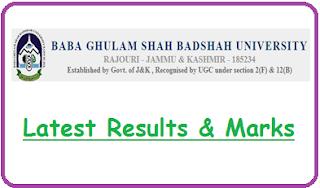 BGSBU Results 2020