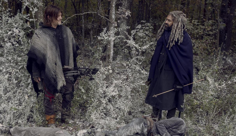 Ezekiel y Daryl, en el episodio 9x16 The Storm de The Walking Dead